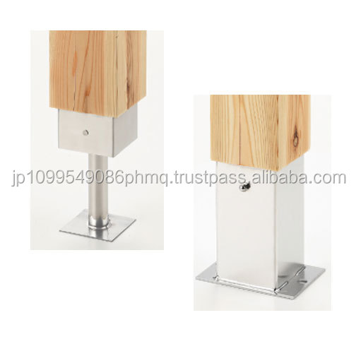 Stain-resistant and High quality japan prefab house Stainless decorative column base hardware at reasonable prices