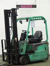 Forklift Mitsubishi FB16NT Electric 3 Wheel Truck-2