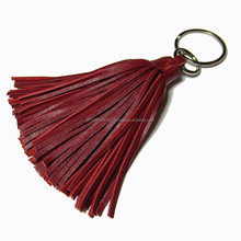 Leather bag accessories Tassel