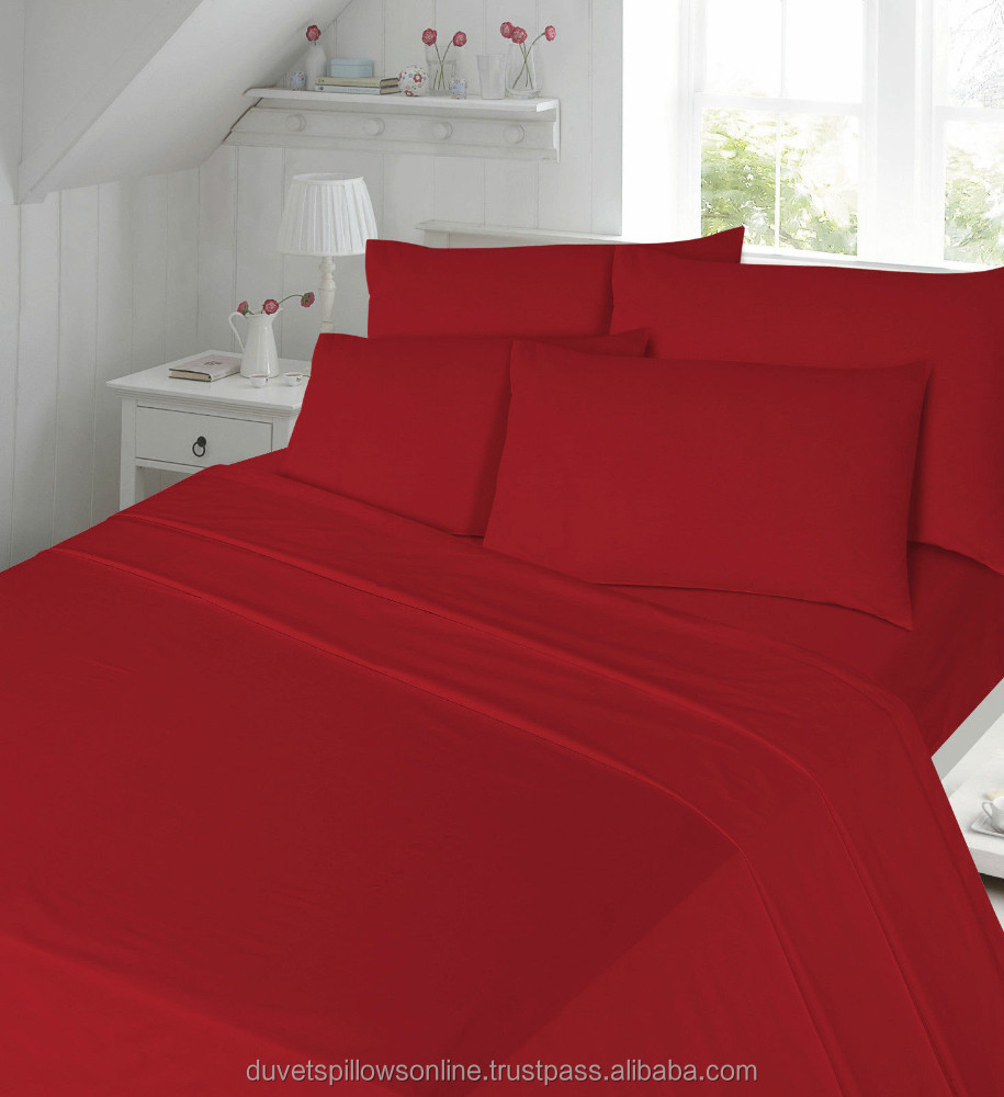Percale Duvet Cover Set with Pillowcases