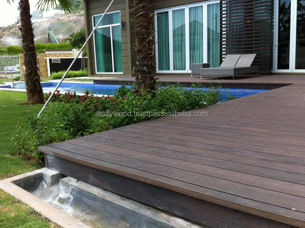 Timber Decking For Resort Villa