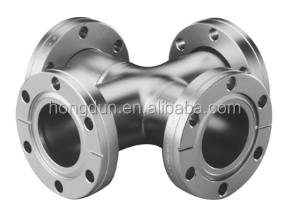 "hong dun 1/2"" 3/4"" 1"" 1-1/4"" 1-1/2"" black cast iron pipe fitting floor flange"