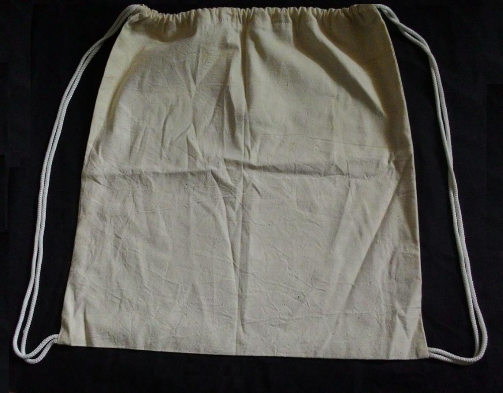 Wholesale 100% Muslin Cheap Cotton Drawstring Bag and Printing Drawstring Bags