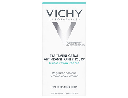 Vichy Deodorant Cream 30ml Anti-Breathable