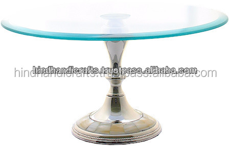 Silver Cake And Pastry Stand For Parties and Weddings