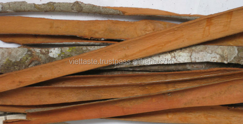 Vietnam split cinnamon with natural color and high oil content