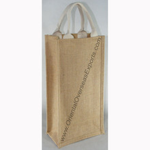bag for wine, perfect for two bottles, custom printed to promote your brand