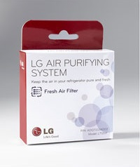 LT120F_LG Genuine Air filter for LG DIOS refrigerator Part #: ADQ73214404_6 Month Replacement