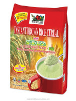 Instant Brown Rice Cereal With Spirulina (No Added Sugar), Your Health Supplements Food, A Healthy Drink