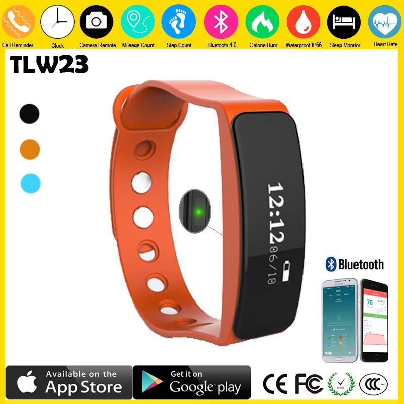 Trending hot products 2016 rubber bracelet professional bluetooth smart bracelet manual fitness tracker