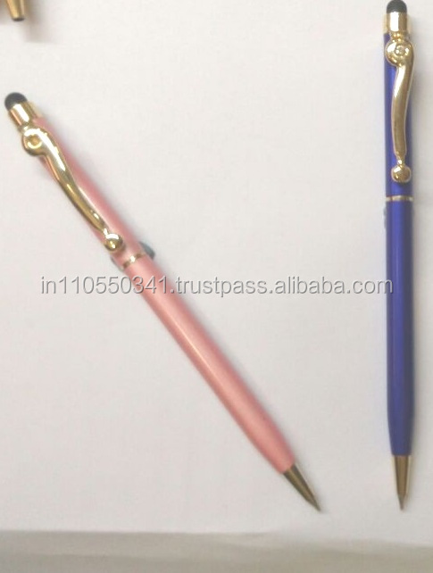 PROMOTIONAL Metal Designer Color Mobile Touch Stylus Pen