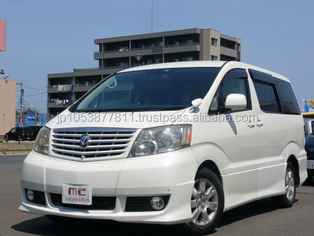 Reasonable and Good looking van toyota at reasonable prices made in Japan Alphard G3.0MS