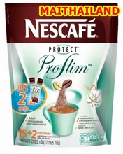 Slimming Coffee Thailand Nestle NESCAFE Protect Proslim Instant Coffee Mix 3 in 1 Diet Coffee 16.5gx17Sachet