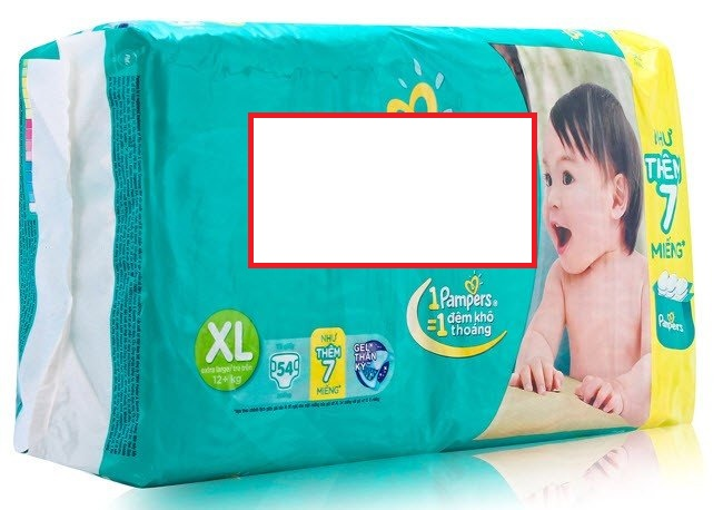 Diaper for Baby Made in vietnam