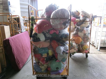 Japanese used soft toy hard toy with mixed baby items wholesale by 40 FT HQ container exported from Japan TC-009-258