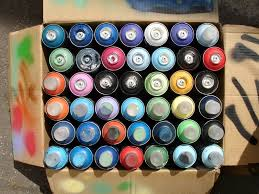 Graffiti Spray Paint / Aerosol Spray Paint Graffiti 400ml