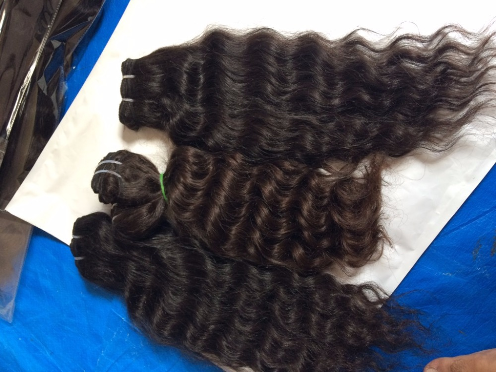 raw virgin indian hair KASANA HAIR EXPORTs extensions silky straight machine weft, virgin hair