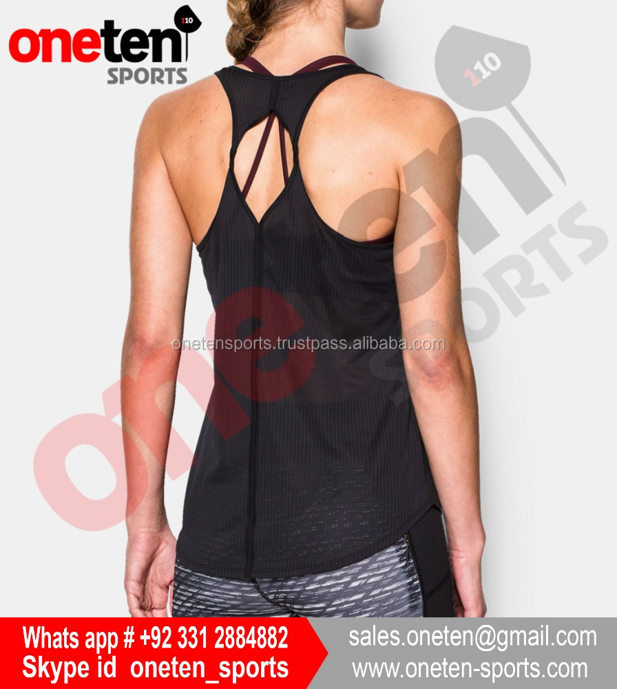 New Classic Tank Top Women Muscle Gym Tank Tops For Fitness & Bodybuilding 100% Cotton