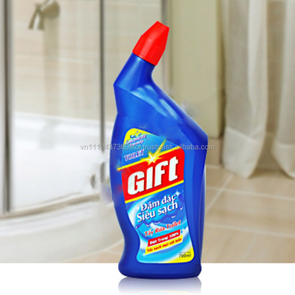 CLEANING CHEMICAL / BATHROOM CLEANING / DETERGENT / GIFT Concentrate Toilet Bleach Super Clean 700ml
