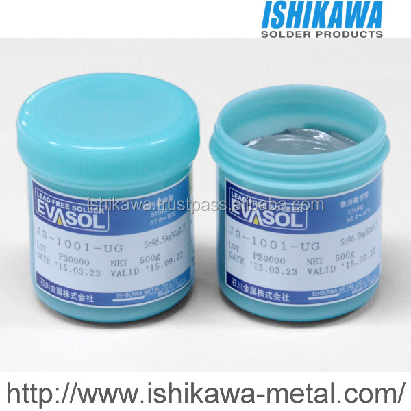 J3-1001-UG long lasting solder paste with stronger application for PCB assembly