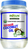 Organique Natural Coconut Oil, in the bottle from Thailand