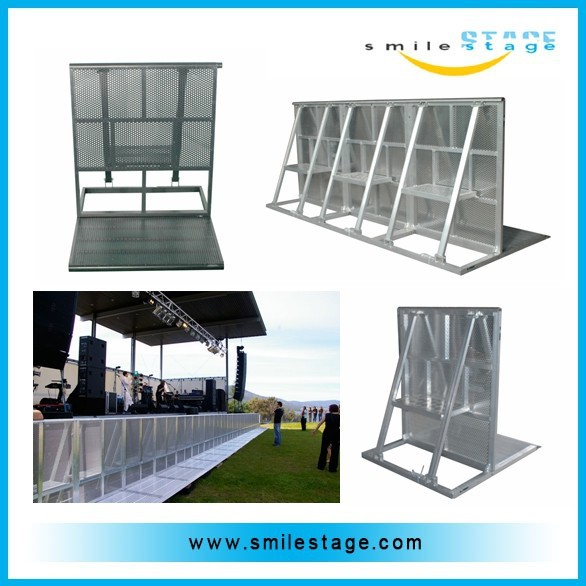 facatory doors crowd barrier with high standard aluminum and production