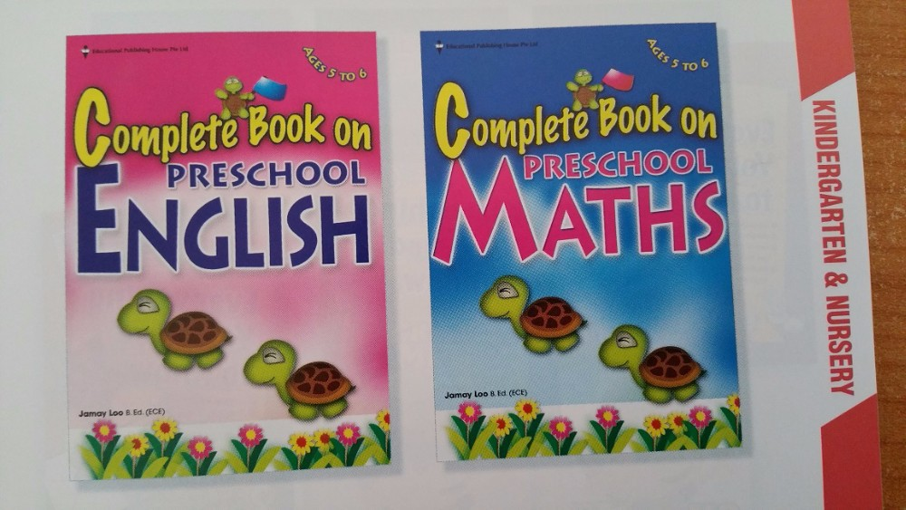Educational assessment books from Singapore