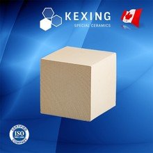 Loose Cordierite Honeycomb ceramic regenerator for RTO RCO