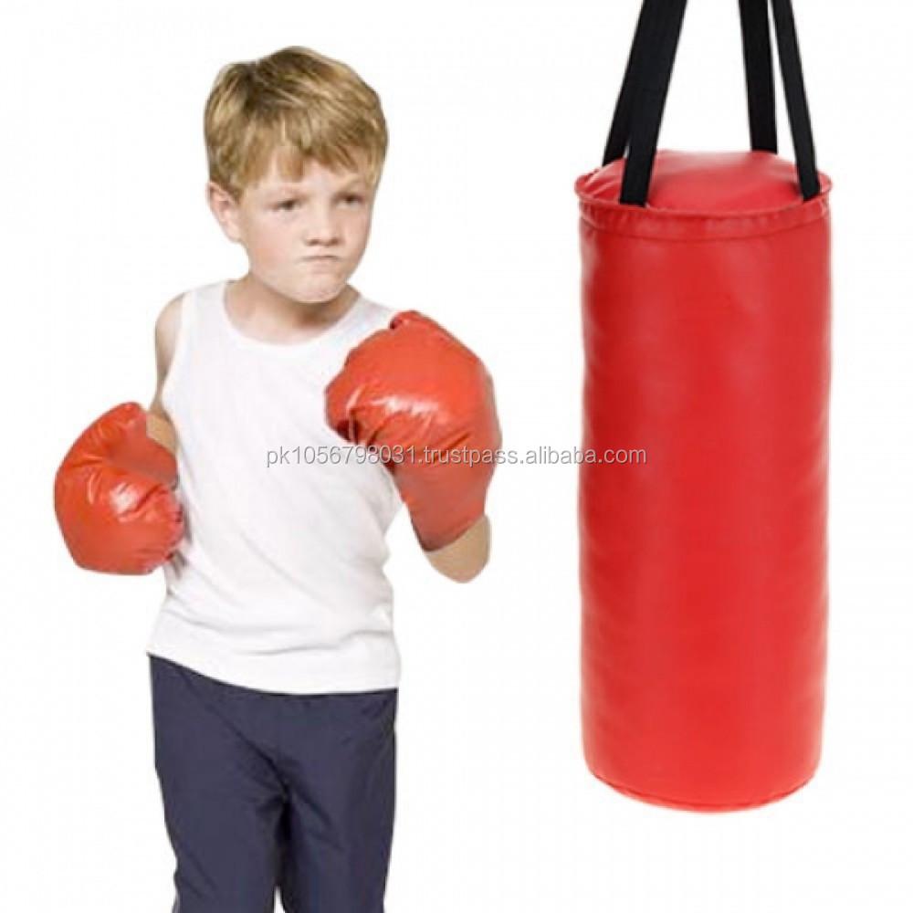 Free standing punching bag for women