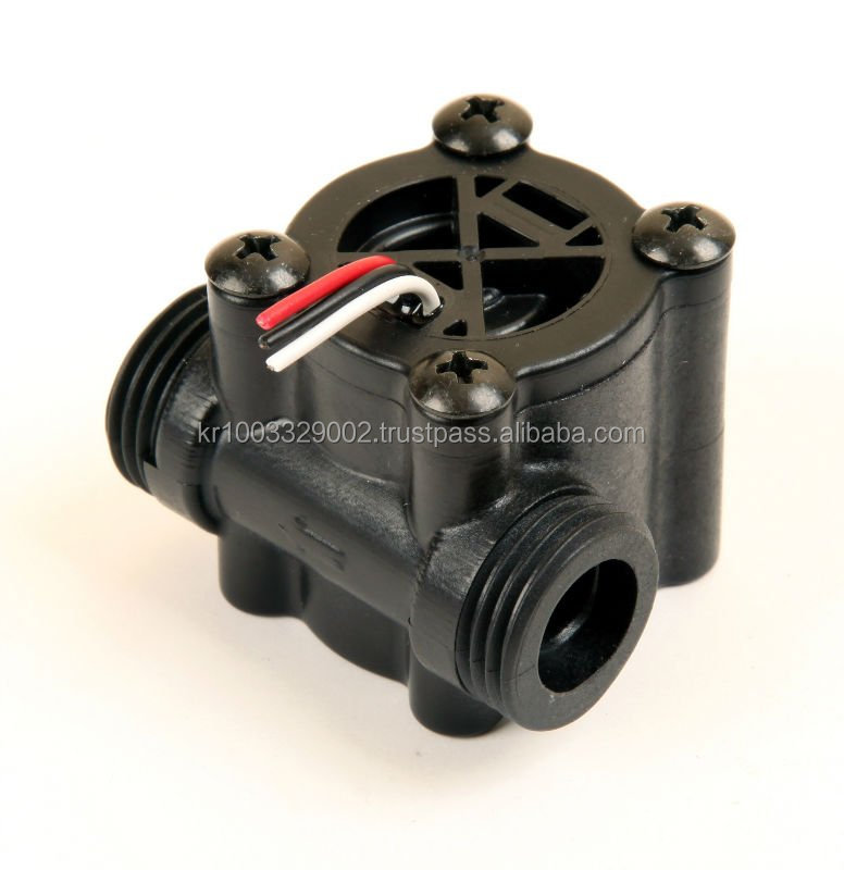 flow sensor for water heater, gas water heater, water purifier, refrigerator, ice maker,