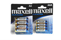 Alkaline battery maxell