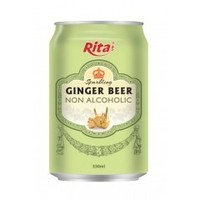 Ginger Flavour Non Alcoholic Beer
