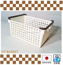 Various kinds of Japanese plastic laundry basket , your original colors available