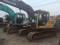 Second hand volvo 180 excavator for sale/used volvo excavator