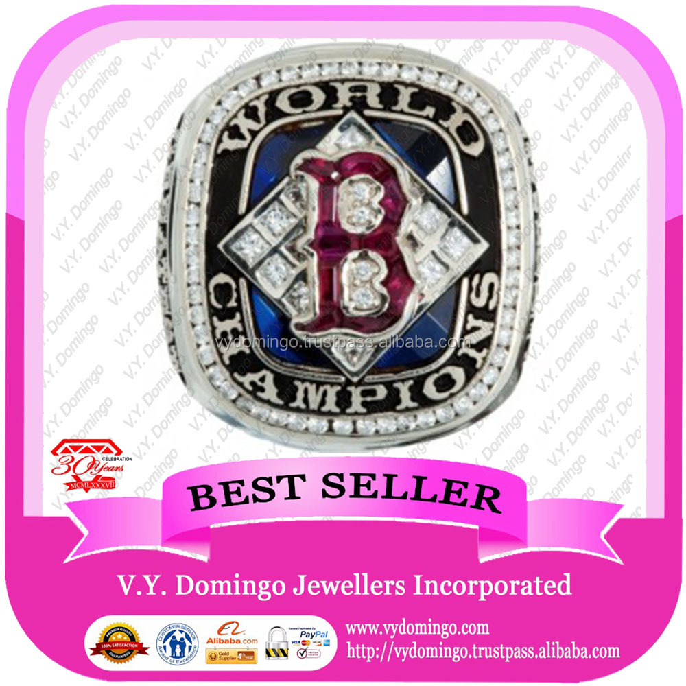 High replica 2004 Boston Red Sox Championship ring world champion cup silver rings