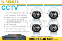 CONDOR 4K UHD WIRELESS CCTV SYSTEMS