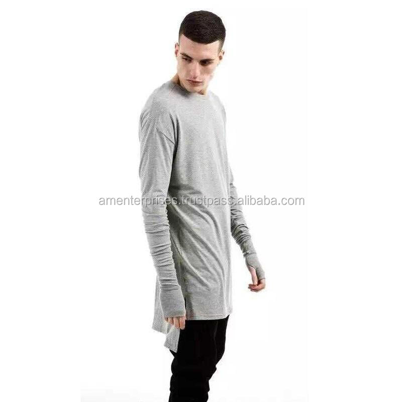 Longline zipper Polo Shirt   Longline T Shirts with zip   Custom made side  zip Polo Shirt-Elongated T shirts for men 1d1036e09b4