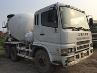 Used Mitsubishi concrete mixer for sale,second hand FUSO/ISUZU mixer...