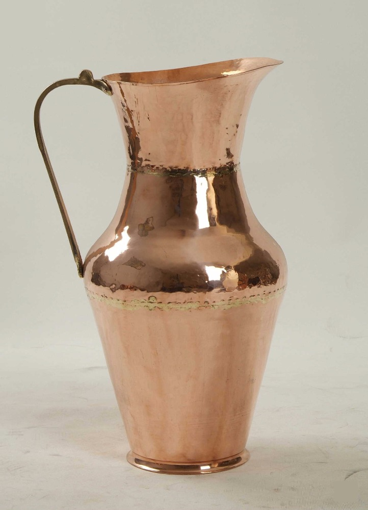 Copper Water Carafe Jug Decanter Decorative Pitcher