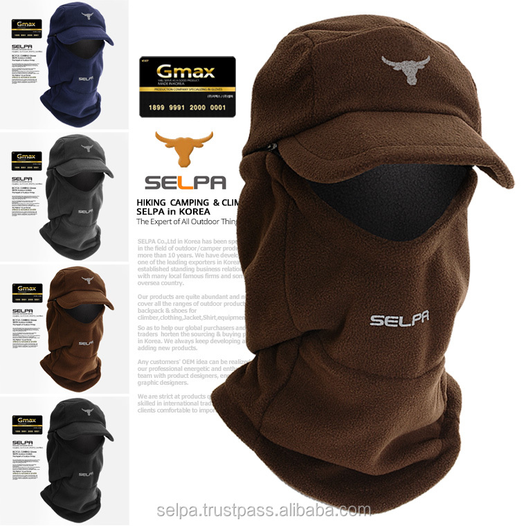 Balaclava Ski Mask Full Face Mask-Protects with Brim Visor Cap