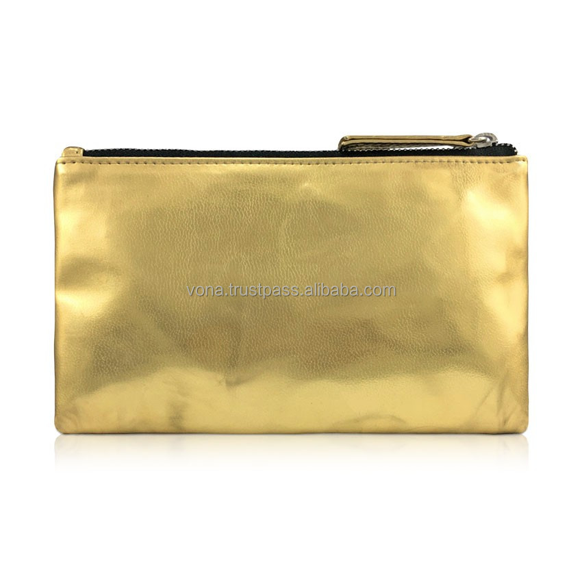 Women Purse Coin Bag Lady Handbag (JAN1603-DisGold)