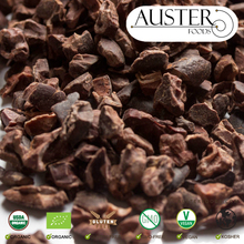 Cocoa Nibs exported from the USA (small orders delivered internationally)