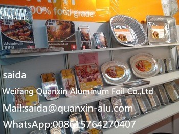 Restaurant Equipment Kitchen Square Aluminum Foil Food Container And Foil trays