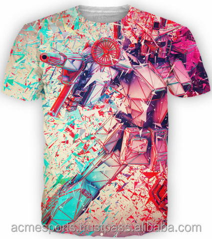 sublimated t shirts - Dye Sublimated t shirt / men sublimation printed t shirt / custom all over printed t shirt grab your own c