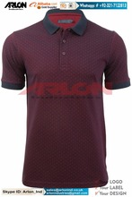 Wholesale Best Deal 2017 Latest Design 100% Cotton Embroidery Polo Collar Shirt For Men