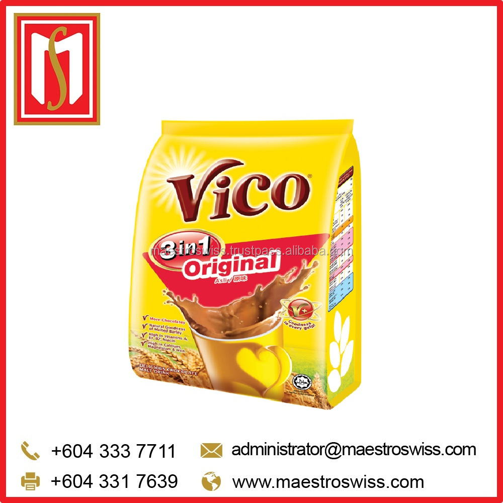 VICO Instant 3 in 1 Original Chocolate Malt Drink