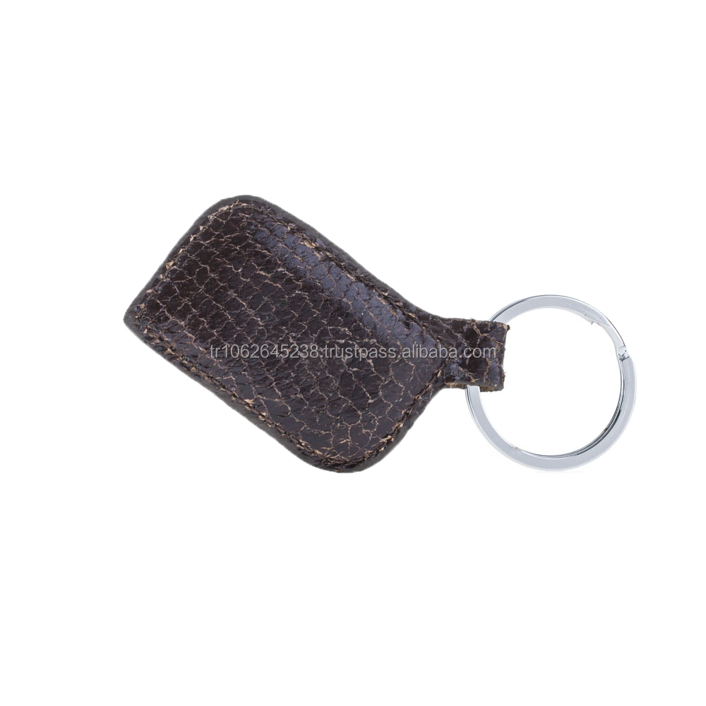 Wholesale Genuine Fish Leather Key Chain from manufacturer