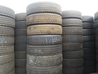 Used Japanese Truck Tyres, Radial Type, Airless Tires for Dump, Trailer, Commercial, Light, Semi Truck for Sale