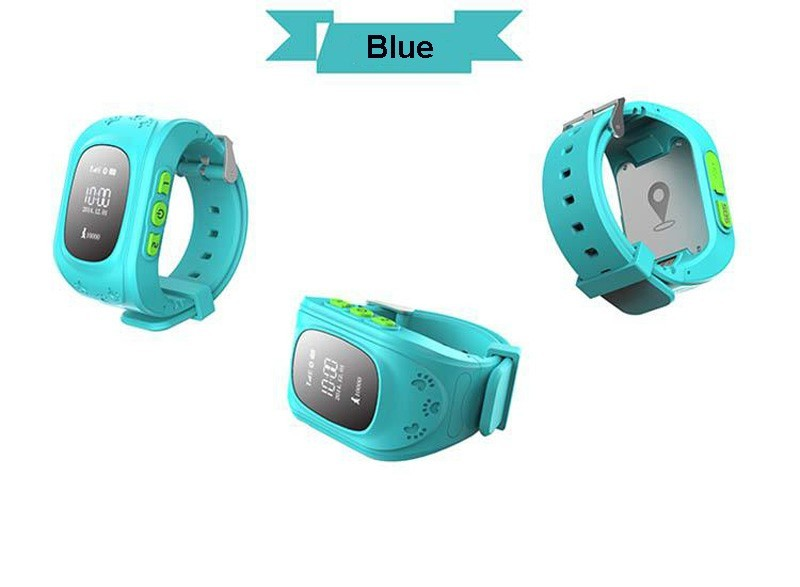 Brand new gps kids tracker watch made in China