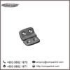 Compact MT high quality polyamide hinge 40x40 profile
